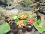 Nasi Lumpur/Mud Rice. Balinese Organic Food.