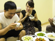 Dinner with a Typical Working-Class Couple