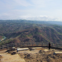 Visiting the Heaven Park in Yogyakarta